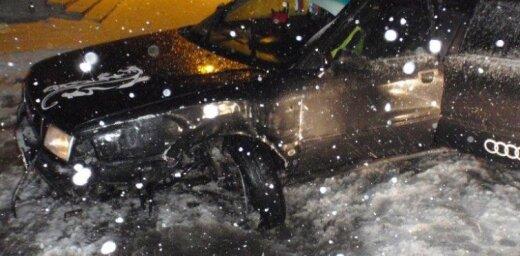 В авариях пострадали 13 человек