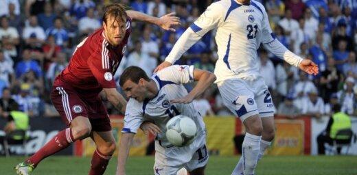 Lasītājs vērtē: Pārdomas par pieredzēto futbola spēles Latvija - Bosnija laikā