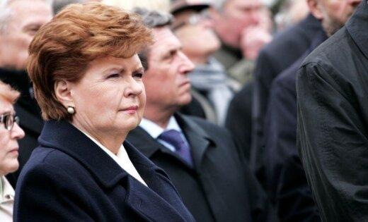 Вике-Фрейберга: в нынешней ситуации дать народу выбрать президента опасно
