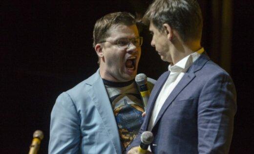 ФОТО: В Риге выступили Гарик Харламов, Тимур Батрутдинов и Демис Карибидис