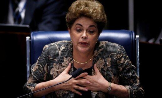 Бразильский Сенат проголосовал заимпичмент президента Дилмы Руссефф