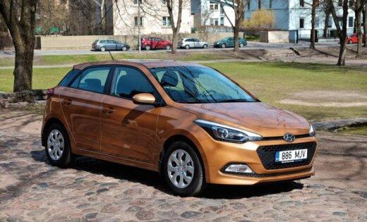 Tirdzniecībā Latvijā nonācis jaunais 'Hyundai i20'