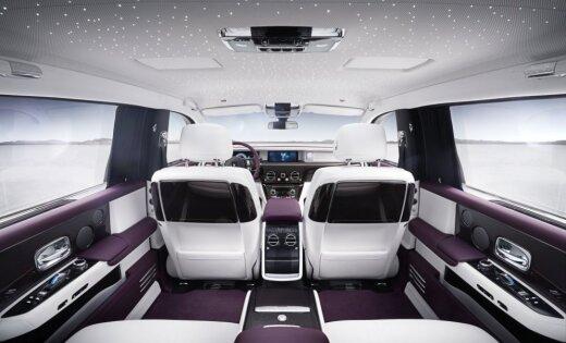 Роллс Ройс представил новый седан Phantom VIII