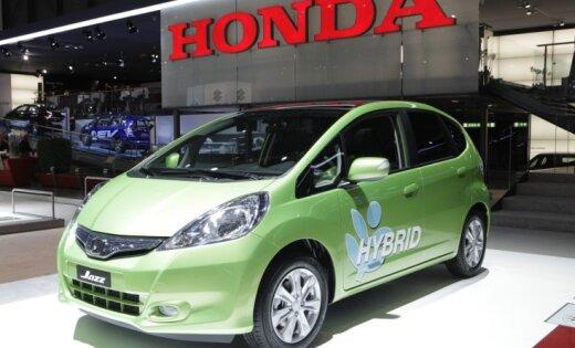 тест драйв самая зеленая Honda Jazz Hybrid Delfi