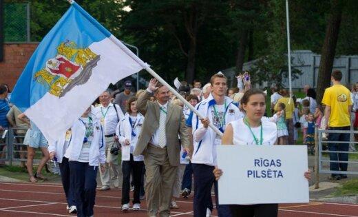 Latvijas olimpiādē pašvaldību konkurencē turpina dominēt Rīga