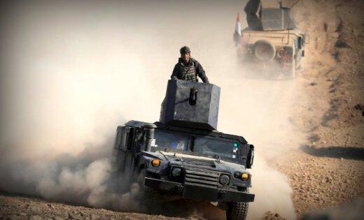 Армия Ирака остановила освобождения Мосула