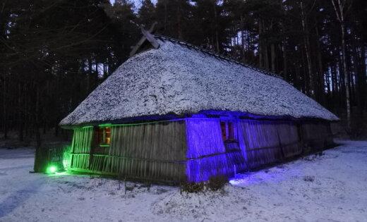 Aculiecinieka foto: Romantiskas ziemas ainiņas Brīvdabas muzejā