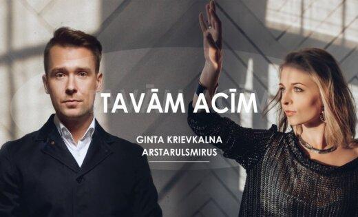 Noklausies! Ginta Krievkalna un Arstarulsmirus un izdod kopīgu singlu