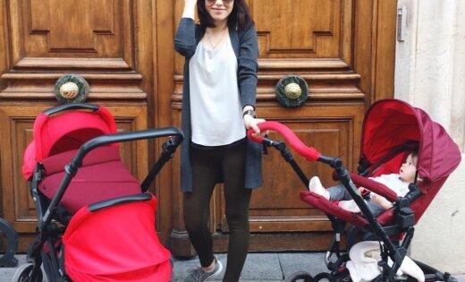 Rīga – Parīze: kā Jolanta 22 gados kļuva par daudzbērnu mammu un dzīvo kā filmā