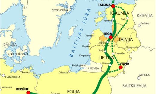 Страуюма: проект Rail Baltica важен даже без экономической выгоды