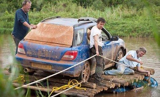 Pēc 'Top Gear' raidījuma pieaug interese par veciem 'Subaru Impreza'