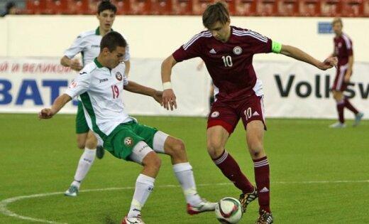 Latvija U-18, futbols, Roberts Uldrikis