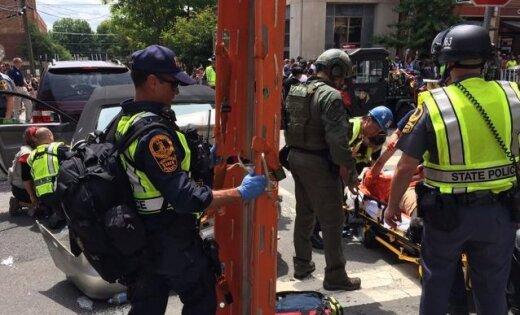 Белый дом следит заситуацией вШарлоттсвилле, где идет акция ультраправых