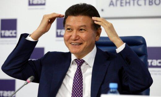 Кирсан Иллюмжинов отстранен от должности президента ФИДЕ