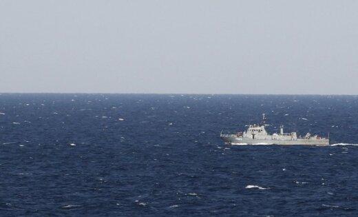 Latvijas ekonomiskajos ūdeņos atkal 'viesojas' Krievijas izlūkošanas kuģis