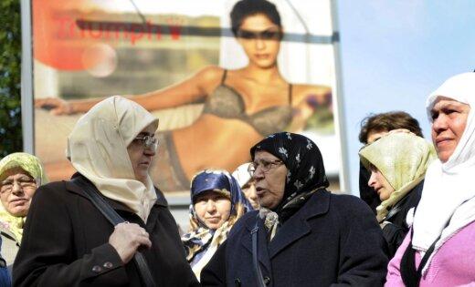 Aicinājumam izteikties par seju aizsedzoša apģērba aizliegumu atsaukušies astoņi cilvēki