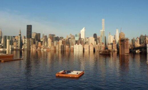 Ученые показали, как в2100 году Нью-Йорк уйдет под воду