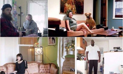 Foto: Māksliniece apceļo pasauli, iemūžinot savus 'Facebook' draugus