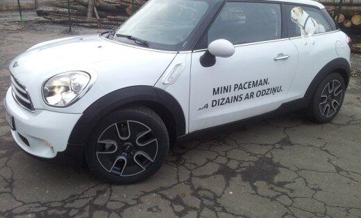 Тест-Драйв Mini Paceman. Кроссовер или купе?