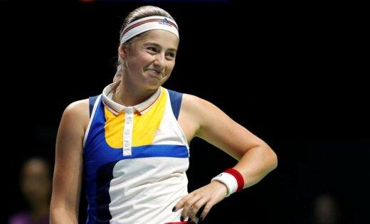 Ostapenko un Sevastova saglabā savas pozīcijas gada pirmajā WTA rangā