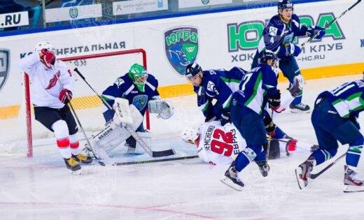 «Югра» сминимальным счётом победила «Металлург» изНовокузнецка