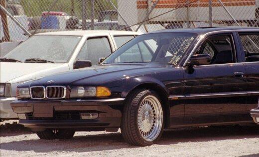 Foto: Par pusotru miljonu nopērkams BMW, kurā nošāva Tupaku