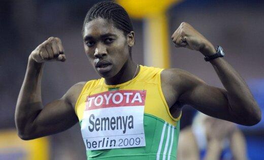 Pretrunīgi vērtētā Semenja būs DĀR karognesēja Londonas olimpiskajās spēlēs