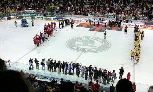 Latvija un Dānija pretendē uz 2018.gada pasaules hokeja čempionāta rīkošanu