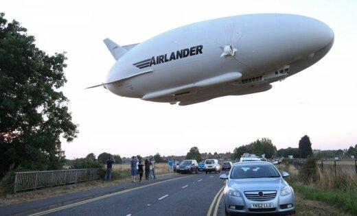 Самое огромное воздушное судно вмире поднялось внебо вСоединенном Королевстве