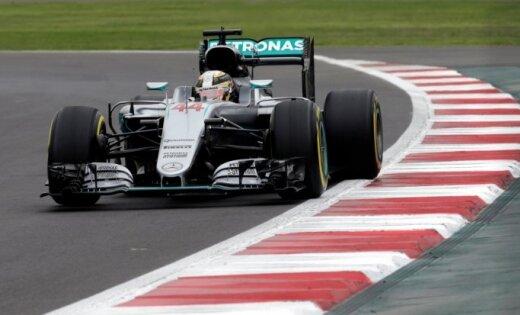 Хэмилтон одержал победу квалификацию Гран-при Мексики