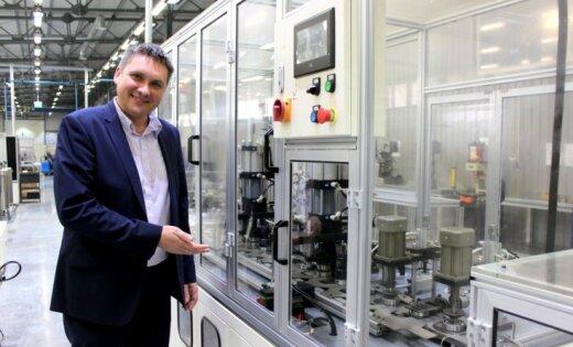 Rīgā darbu sākusi Baltijā pirmā gultņu rūpnīca 'Baltic Bearing Company'