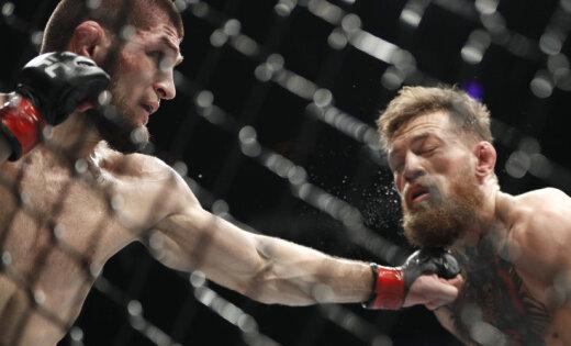 Отец Хабиба Нурмагомедова пообещал наказать сына жестче, чем UFC