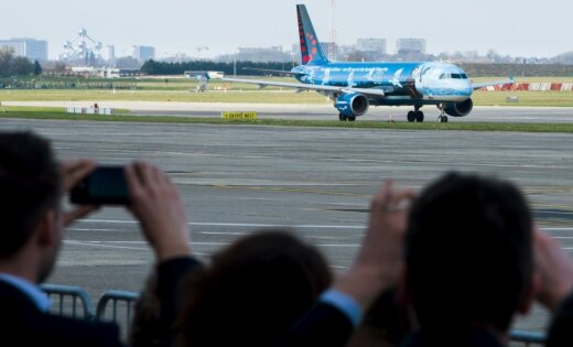 Поступили данные обугрозе взрывов в 2-х самолетах, летящих вБрюссель
