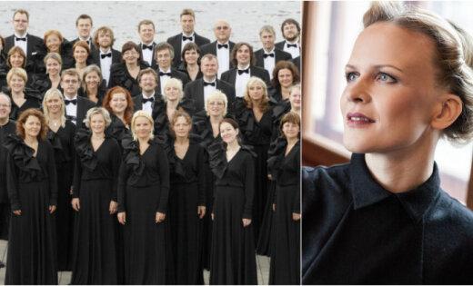 VAK 'Latvija' koncertēs kopā ar ērģelnieci Ivetu Apkalnu