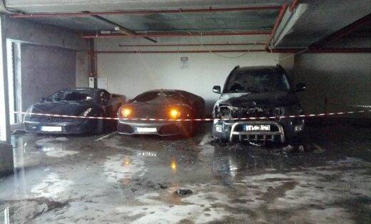 Владелец сгоревших Lamborghini неоднократно нарушал правила