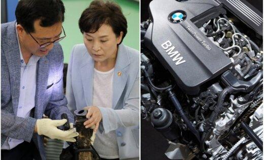BMW automobiļu atsaukums – ražotājs nosaucis modeļus ar aizdegšanās risku