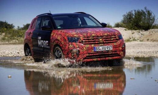 VW publicējis jaunus attēlus ar savu mazāko apvidnieku