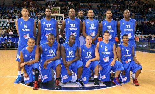 Francijas basketbola izlase paliek nepārspēta Londonā; vāciešiem otrā vieta pārbaudes turnīrā pašu mājās
