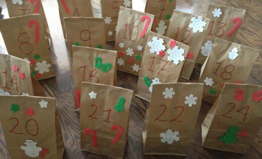 Ziemassvētku gaidīšanas laika kalendāri – idejas un iedvesmas dienu skaitīšanai