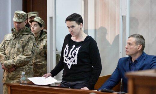"""Надежда Савченко: У властей Украины один ответ — """"рука Кремля"""""""