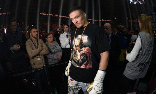 Usika traumas dēļ atcelts Pasaules boksa supersērijas fināls
