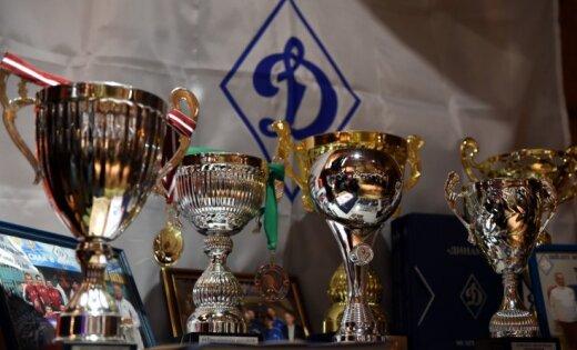 Foto: Sporta biedrība 'Dinamo' atzīmē 75 gadu jubileju