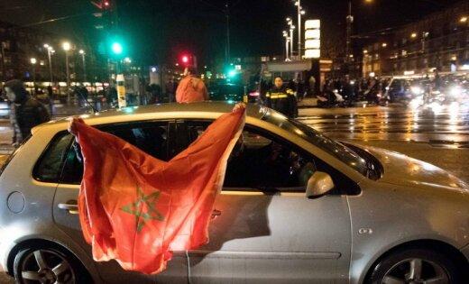 Фанаты сборной Марокко устроили беспорядки в Бельгии и Нидерландах