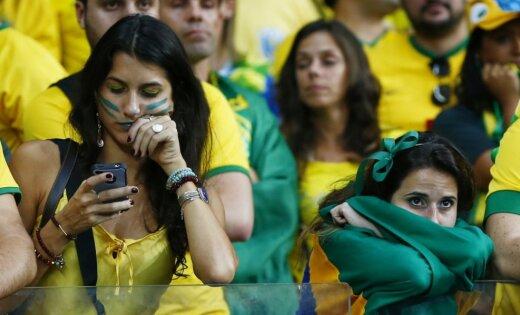 Vācijas un Brazīlijas spēle pārsit arī 'Twitter' rekordus