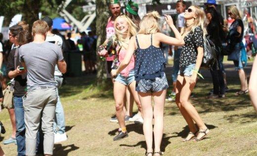 Фестиваль Positivus посетили около 30 тысяч человек