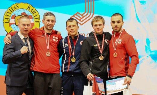 ФОТО: В Юрмале прошел крупный международный турнир по каратэ