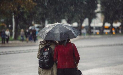 Svētdien vietām Austrumlatvijā nedaudz līs