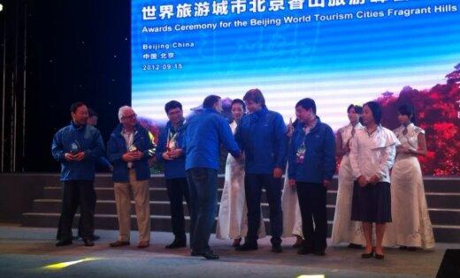 Rīga saņem godalgu Pekinas tūrisma samitā