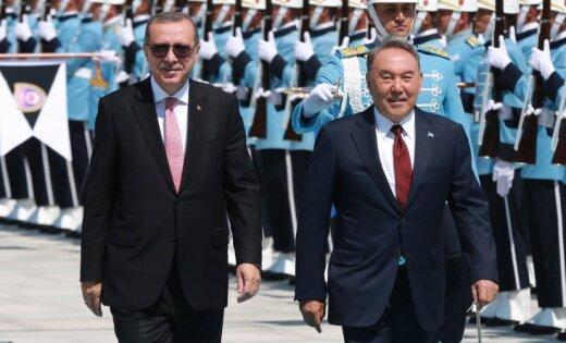 Нурсултан Назарбаев встретился сРеджепом Тайипом Эрдоганом