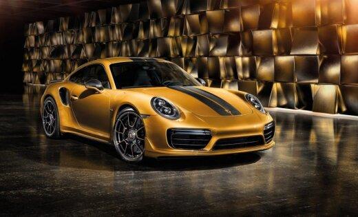 'Porsche 911 Turbo S' speciālā 500 vienību sērijā